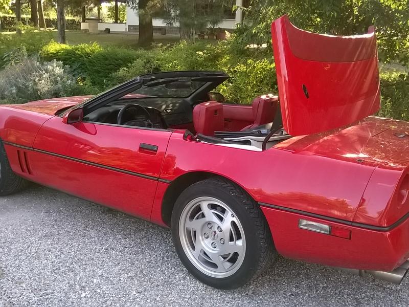 Auto in vendita - 1991, CHEVROLET CORVETTE C4 DECAPOTTABILE