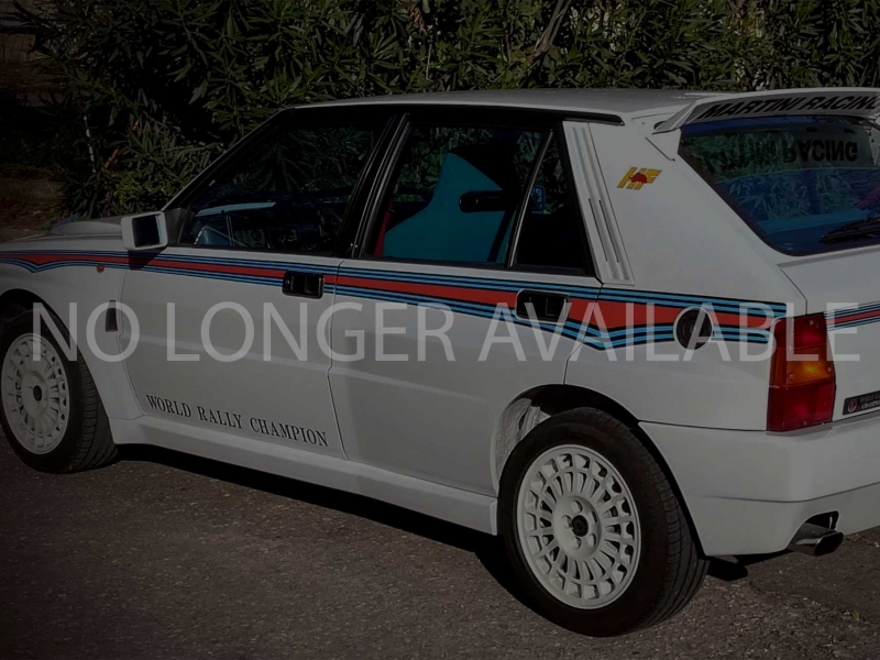 Ruote Leggendarie 1992 Lancia Delta Martini 6 Replica_no longer av