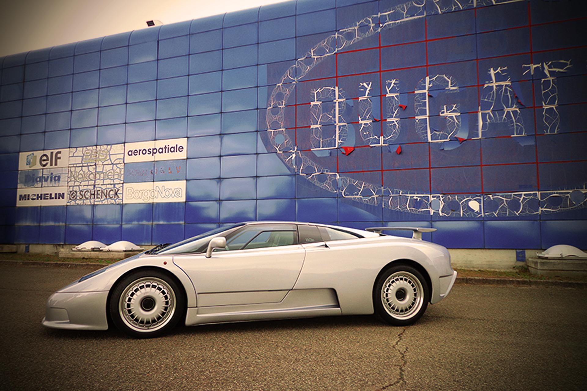Articoli - Bugatti EB110 il sogno mancato Campogalliano