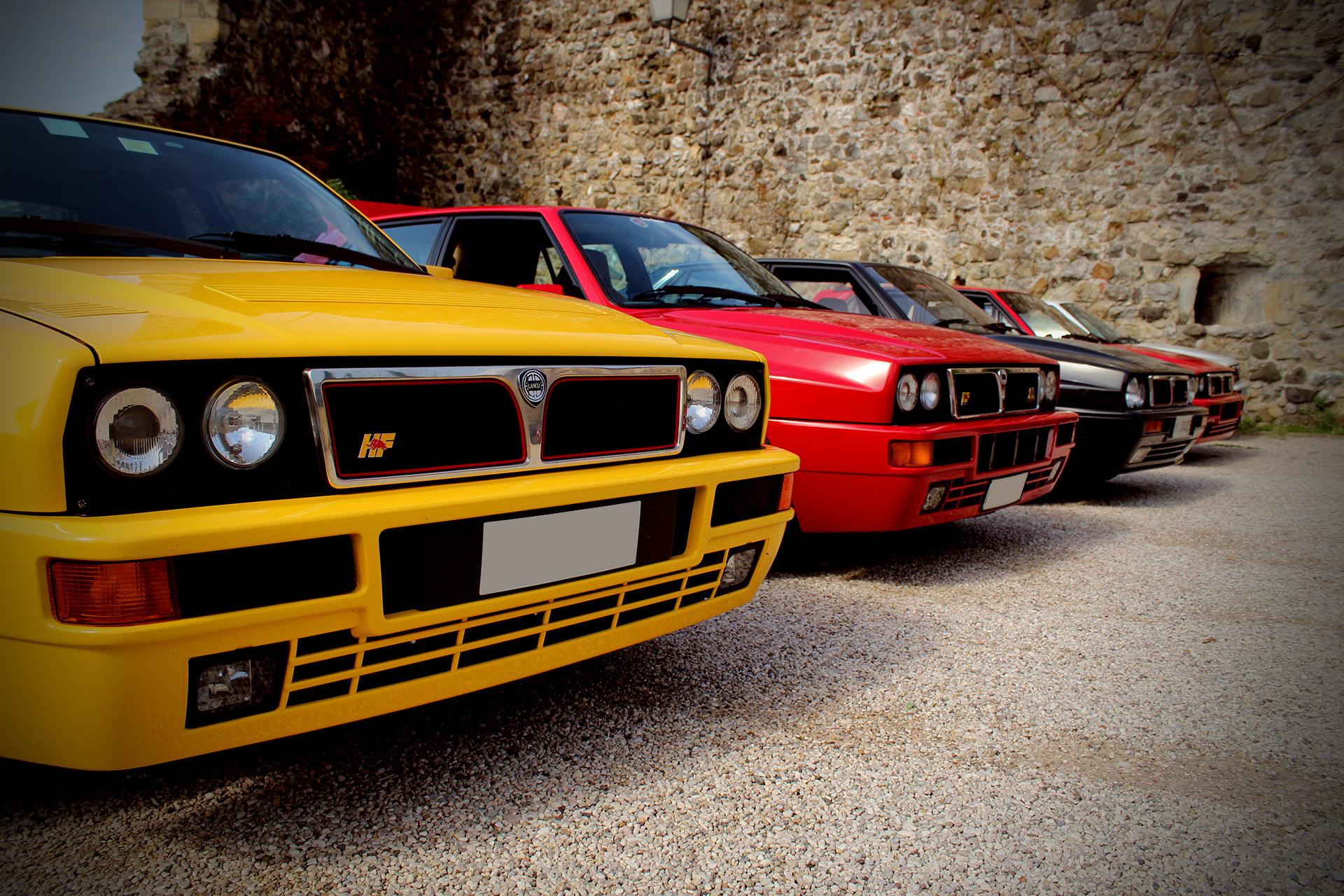 club Bassano Delta Club Lancia Integrale Ruote Leggendarie