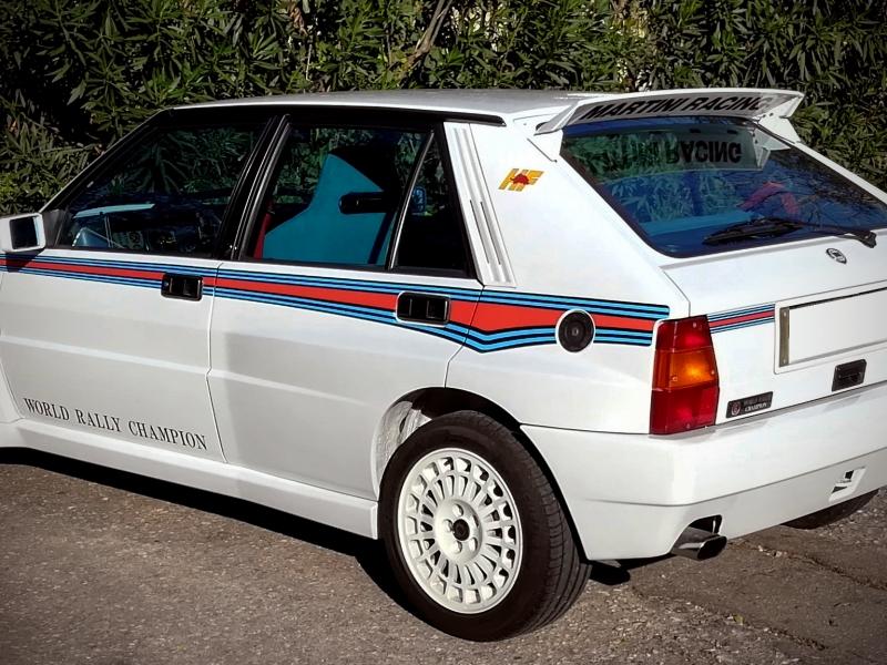 1992, LANCIA DELTA HF integrale MARTINI 6 replica