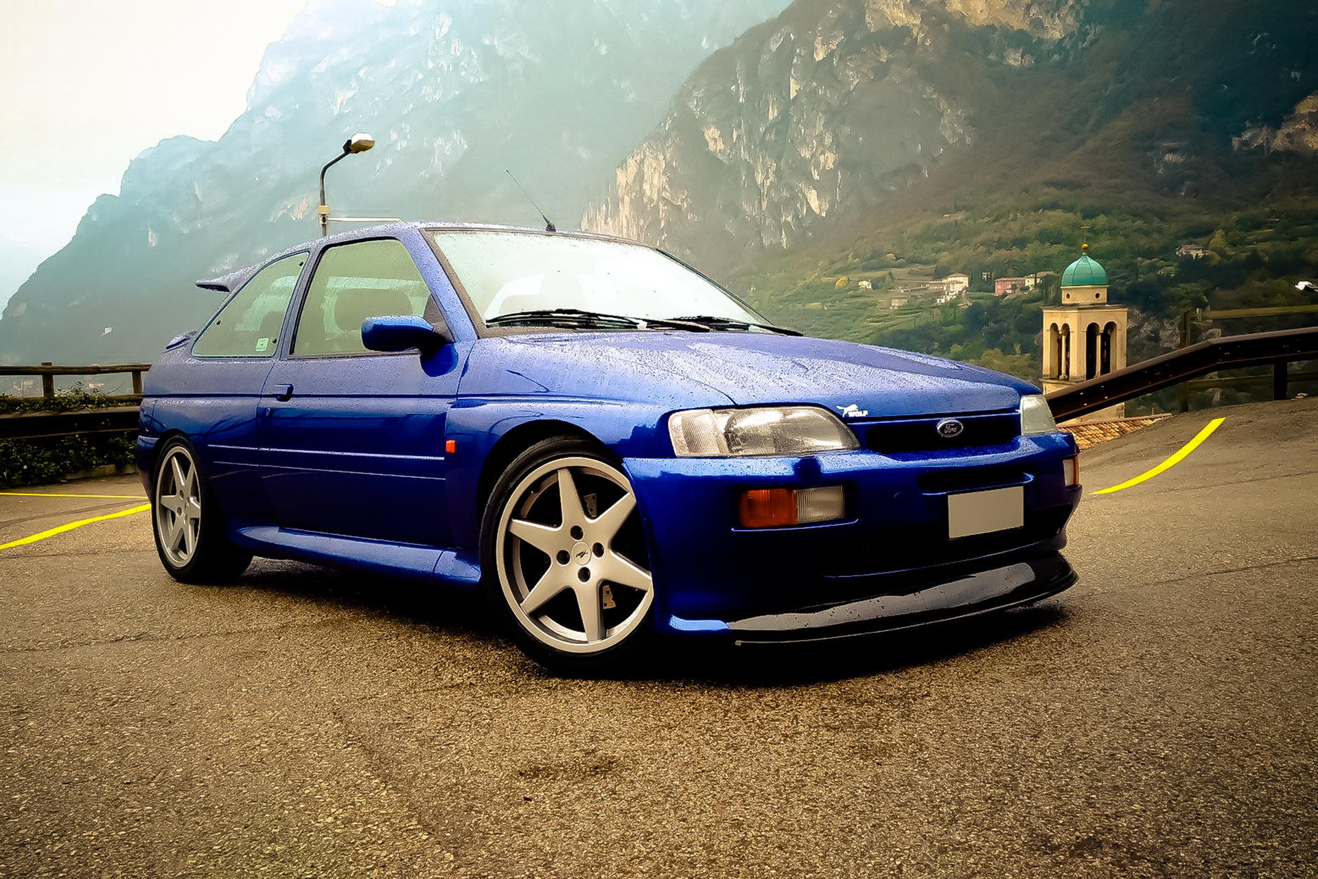 Ford Cosworth Club RS Escort Sierra Ruote Leggendarie