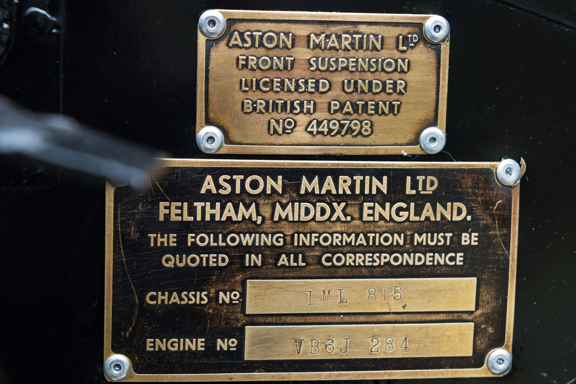 1955 ASTON MARTIN DB 2/4 MK I