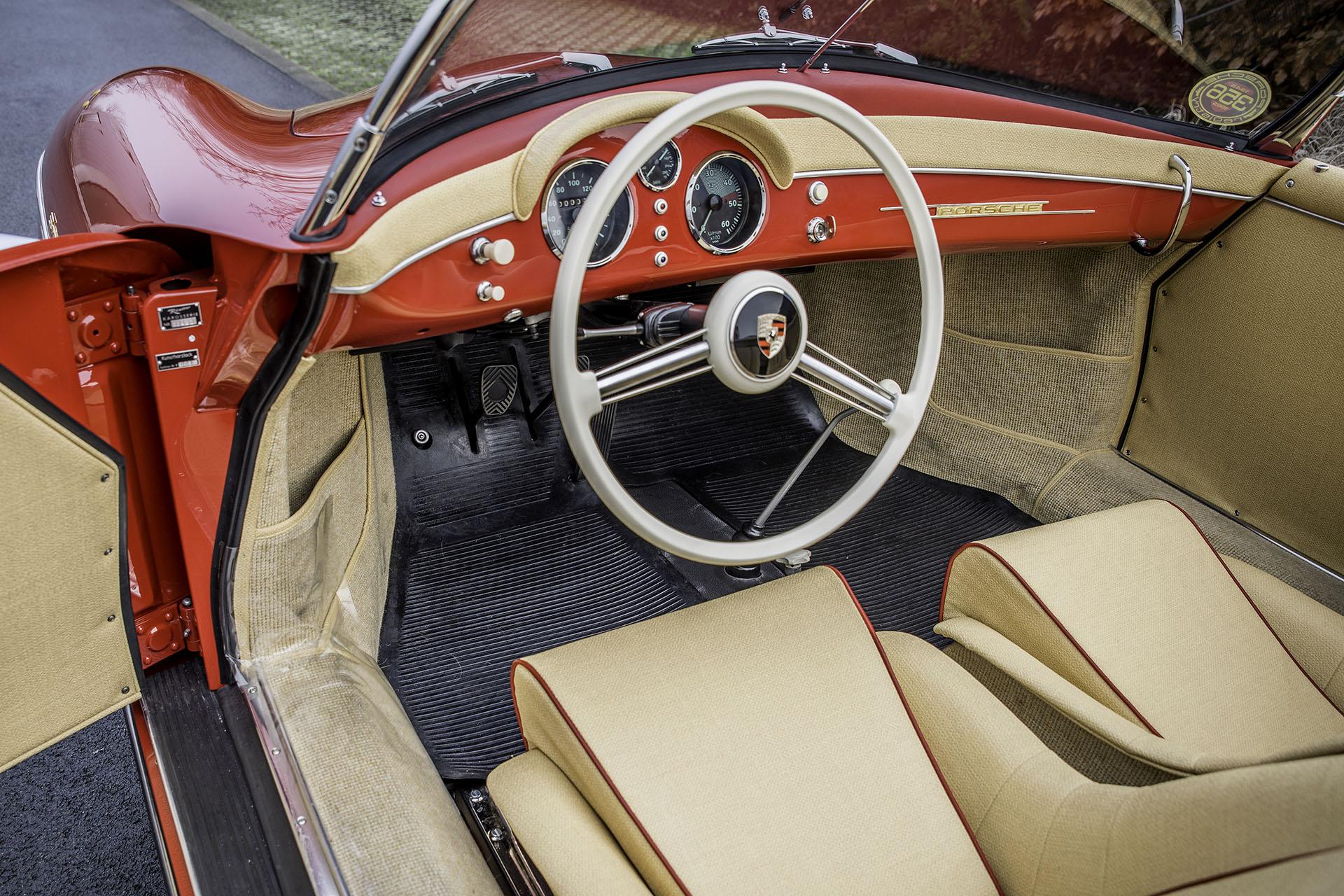 Porsche 356 Pre-A Speedster Ruote Leggendarie Classic Car Service