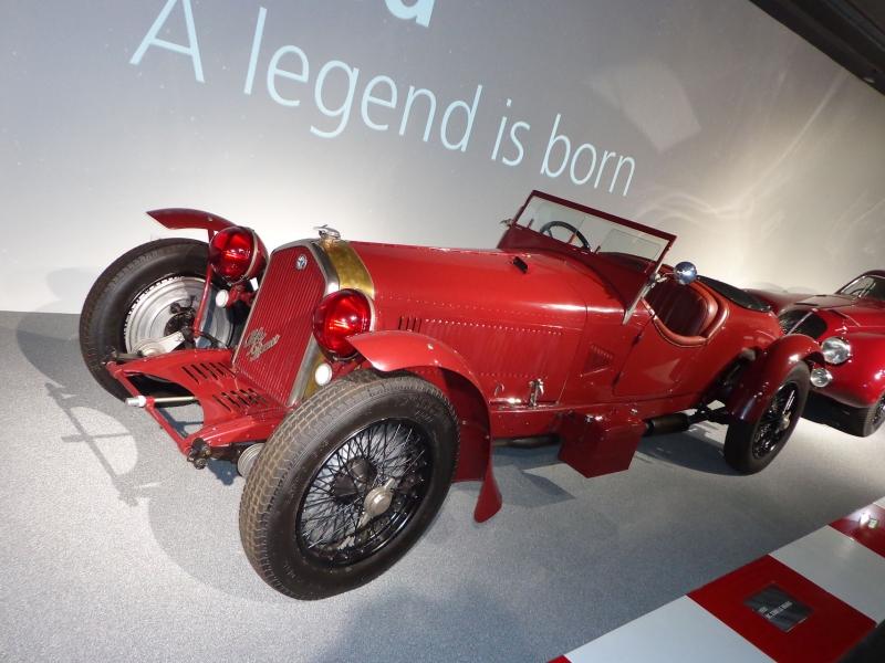 Ruote Leggendarie Museo Storico Alfa Romeo