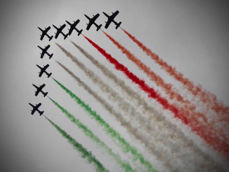 Ruote Leggendarie Travels Umbria Mia 2020_Tour16 Frecce Tricolori Friuli