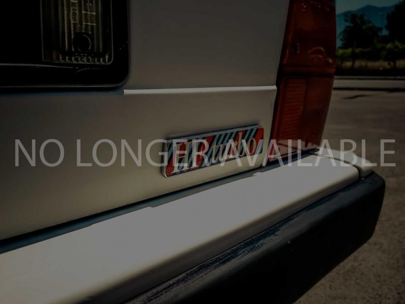 1986 Lancia Delta HF 1.6 Martini turbo