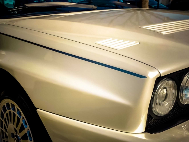 1994 Lancia Delta integrale Bianco Perla Ruote Leggendarie Tobaldin