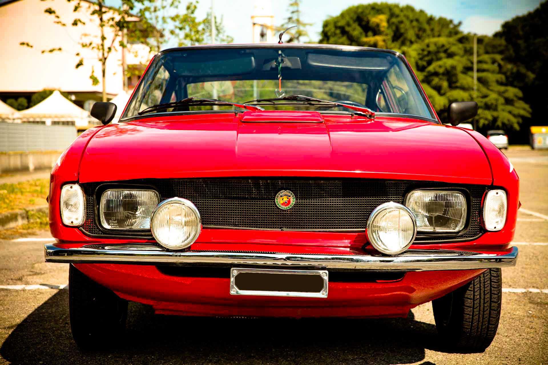 1972, Fiat Abarth Moretti 1000 Coupè
