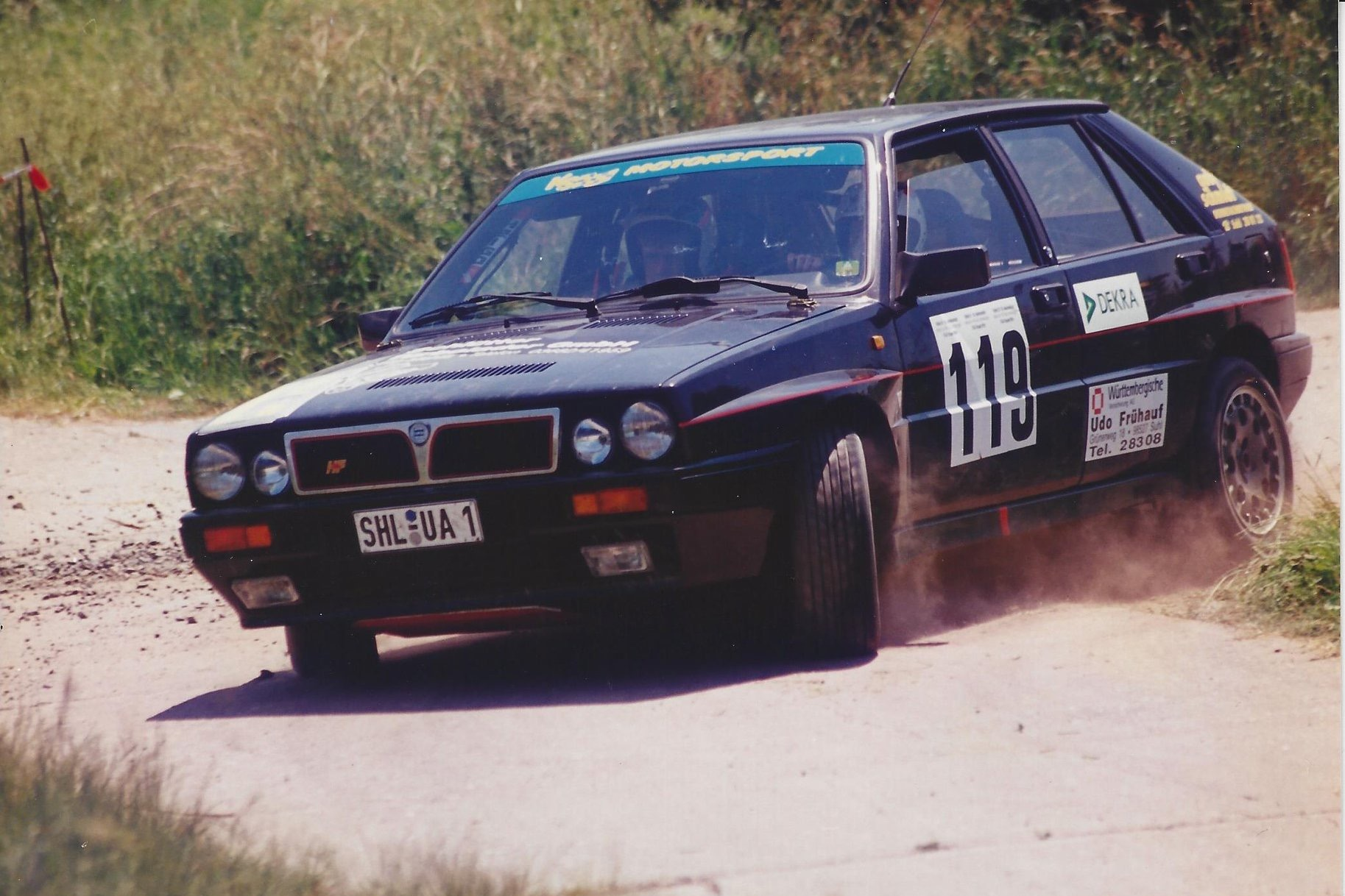 1988, LANCIA DELTA INTEGRALE 8V Group N