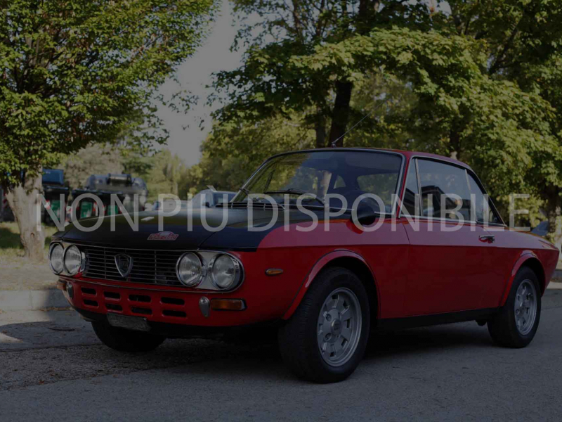 1972 Lancia Fulvia Montecarlo Rossa non piu disp
